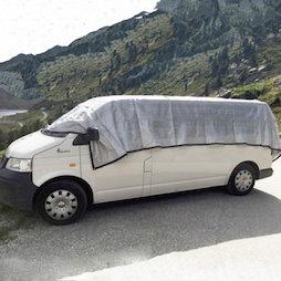 M-ALU-0306, Alunet schaduwnet 80% L, zonwering voor auto en tuin, 3 x 6 m
