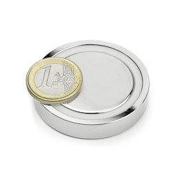 FGN-48, Glue-in pot magnet, Ø 48 mm