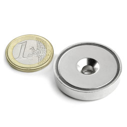 CSN-HT-32, Countersunk pot magnet, Ø 32 mm, strength approx. 30 kg