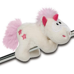 LIV-123/unicornpink, MagNICI magnetic plush toys, unicorn Theodor, with magnets in paws