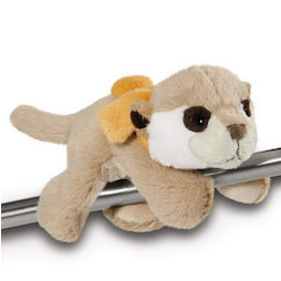 LIV-123/meerkat, MagNICI magnetic plush toys, meerkat, with magnets in paws