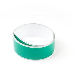 M-FERROTAPE/1m, Metaalband zelfklevend wit, zelfklevende hechtoppervlak voor magneten, breedte 35 mm, rol à 1 m