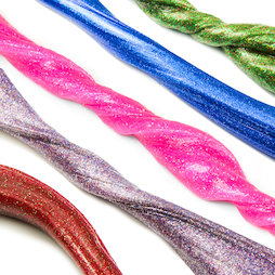 M-PUTTY-GLITTER, Silly Putty Glitter, with glitter, different colours, not magnetic!