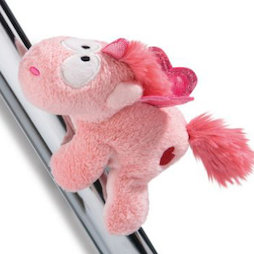 LIV-123/unicornlove, MagNICI magnetic plush toys, unicorn Merry Heart, with magnets in paws