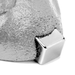 M-PUTTY-FERRO/silver, Thinking Putty magnetic silver-coloured, ferromagnetic putty, silver-coloured, magnet not included