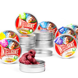 M-PUTTY-MINI, Thinking Putty 'Mini', in small tins, different colours, not magnetic!
