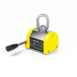 WS-LHM-125, Lifting magnet MaxX 125, maximum load 125 kg, for flat and round stock, safety factor 3:1
