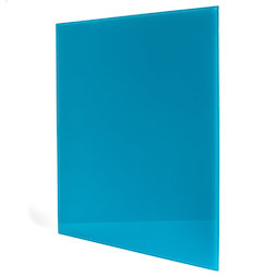 GMBB-4550/turq, Magnetic glass board square, 45 x 50 cm, in different colours
