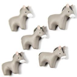 LIV-143, Donkey, Dekomagnete in Esel-Form, 5er-Set