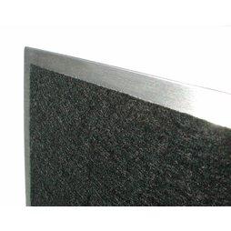 panneau magn tique pour cl s 25 x 15 inox. Black Bedroom Furniture Sets. Home Design Ideas