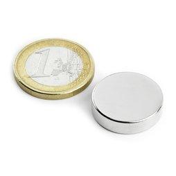Disque magn�tique Ø20mm, hauteur5mm