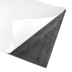 MS-A4-STIC, Self-adhesive magnetic sheet, A4 format, to cut & glue, grey-black