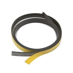 MT-10-STIC, Bande magnétique adhésive ferrite 10 mm, bande magnétique autocollante, rouleaux d'1 m / 5 m / 25 m