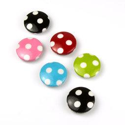 LIV-43, Funghi di Biancaneve, magneti decorativi con cuscinetti in feltro, set da 3