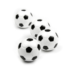 LIV-45, Kicker, deco magnets in the shape of a football, set of 4