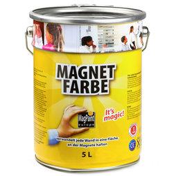 peinture magn tique 5 litres suffisant pour 10 m tres carr s. Black Bedroom Furniture Sets. Home Design Ideas