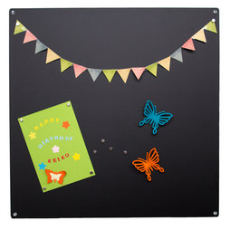 MB-11, Magnetic board square, made from 0,8 mm thick steel sheet, 40 x 40 cm, in different colours