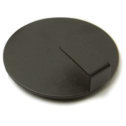 LIV-61/black, Ganci magnetici Solid, ganci magnetici eleganti, set da 4, nero