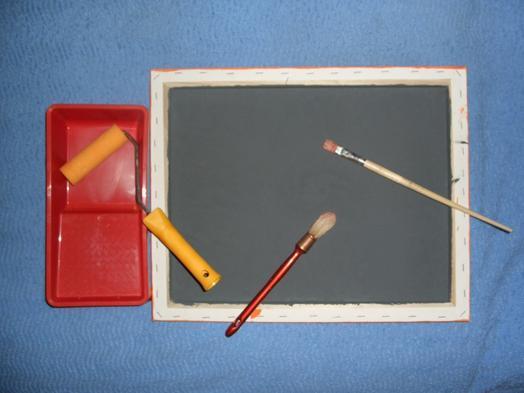 applications aimants cr er soi m me un tableau m mo avec peinture magn tique. Black Bedroom Furniture Sets. Home Design Ideas