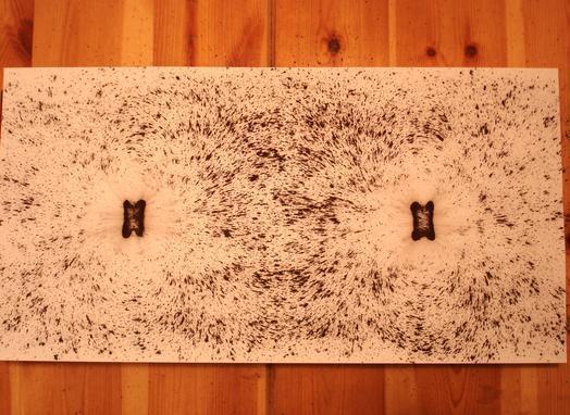 applications aimants enlever de la limaille de fer d 39 un. Black Bedroom Furniture Sets. Home Design Ideas